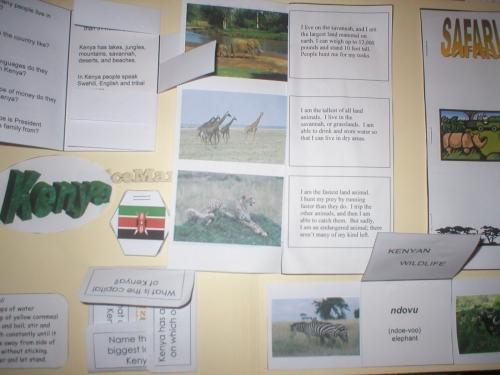 lapbooks for homeschoolers. Ethiopia lapbook